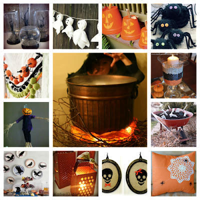 Halloween Yard Decorations on Craft  Interrupted  13 For Halloween   Decor Ideas