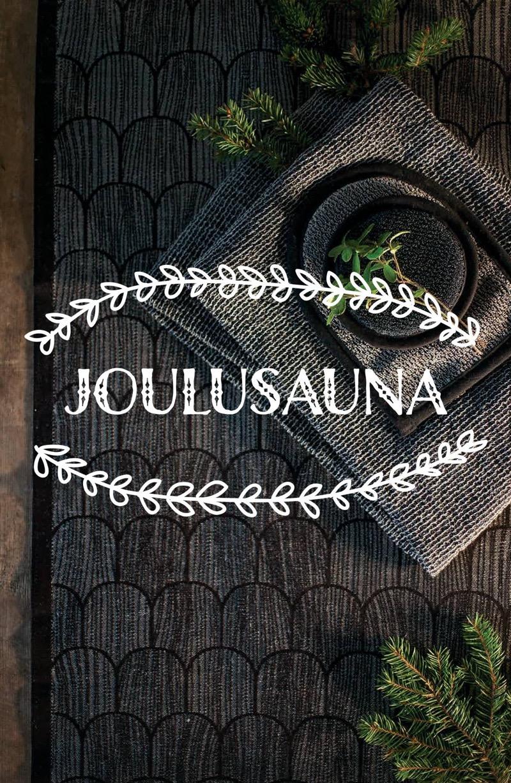 Sauna fabrics by Lapuan Kankurit
