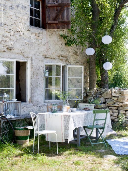 Weekend desde my ventana blog de decoraci n for Mesa jardin ikea
