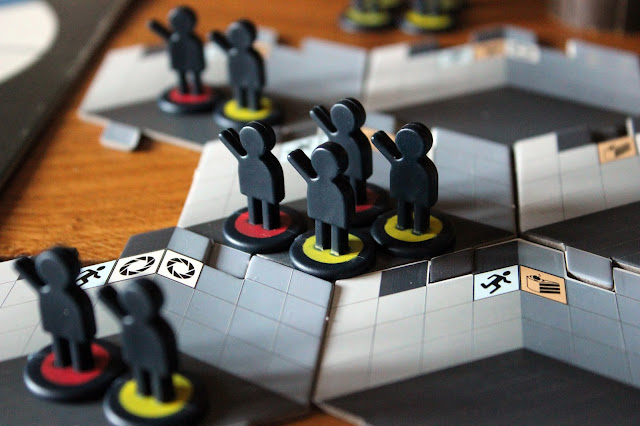 Portal board game - test subjects