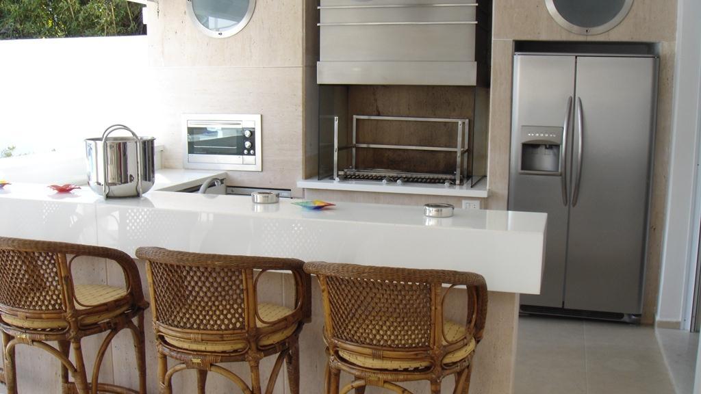 Construindo Minha Casa Clean Cozinhas Gourmet com Churrasqueiras Integradas! # Cozinha Planejada Com Churrasqueira