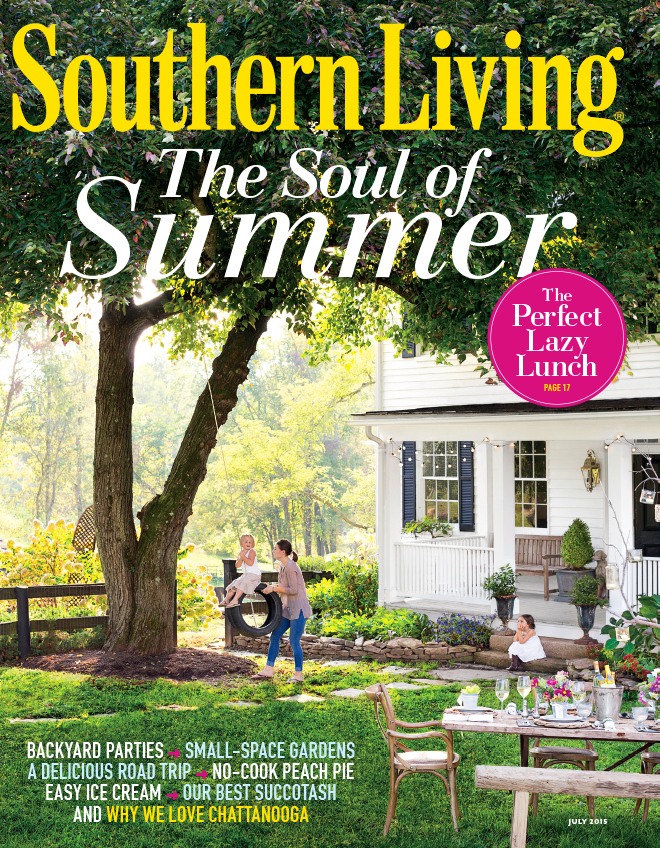 southern living july issue