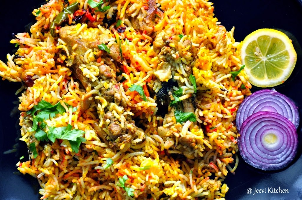 Jeevi kitchen hyderabad chicken briyani for M kitchen hyderabad
