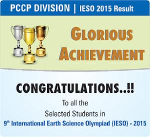 Outstanding Achievement in IESO-2015