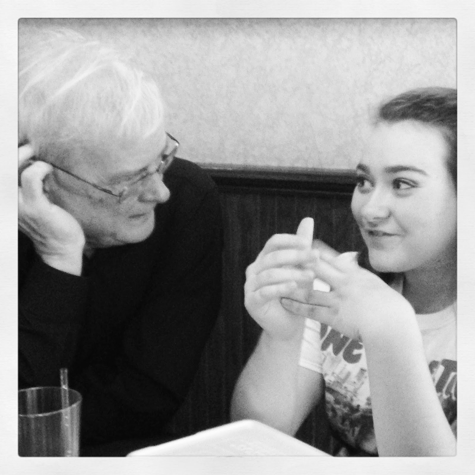 Talking with Grandpa