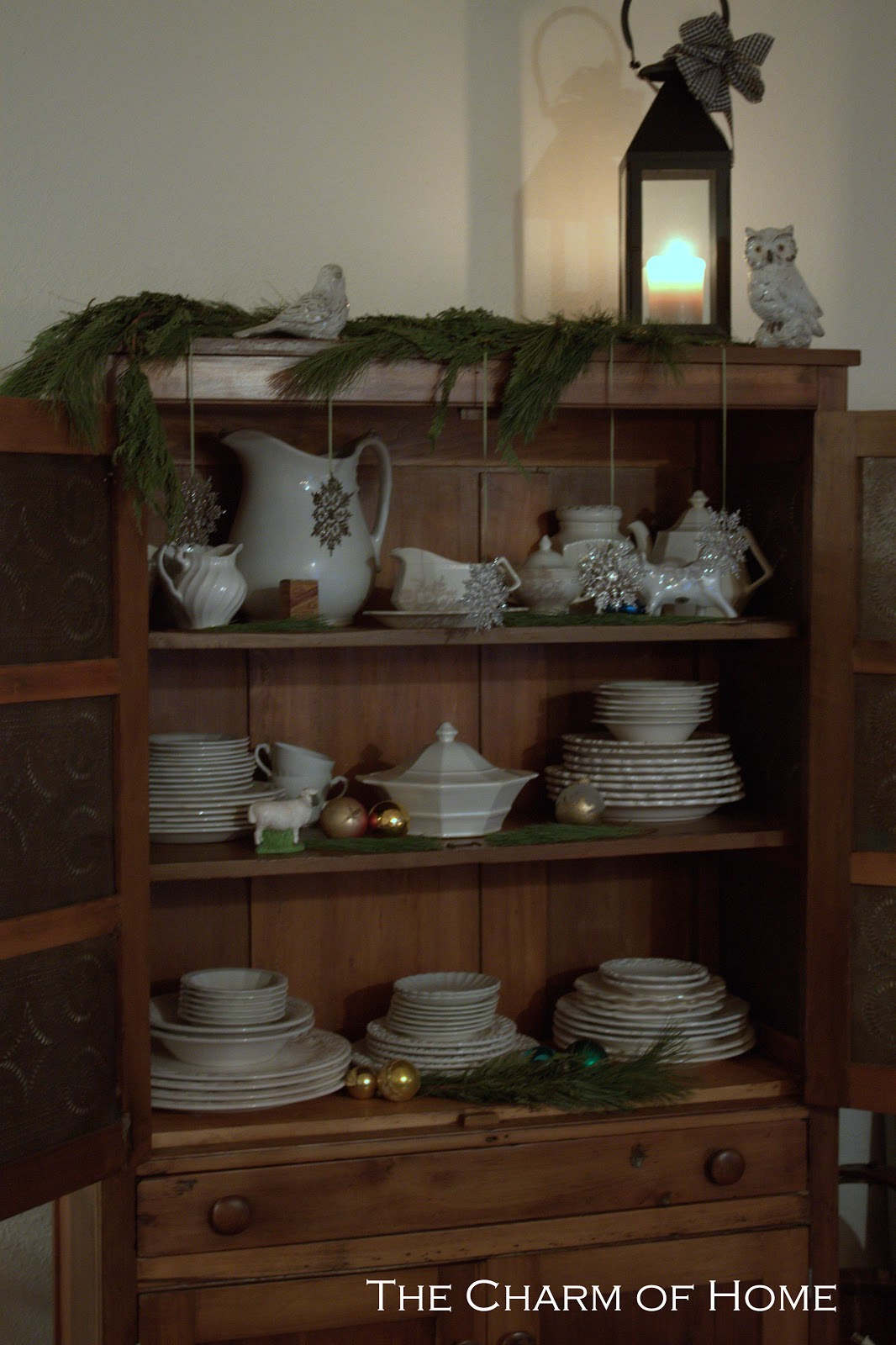 The Charm Of Home Farmhouse Christmas