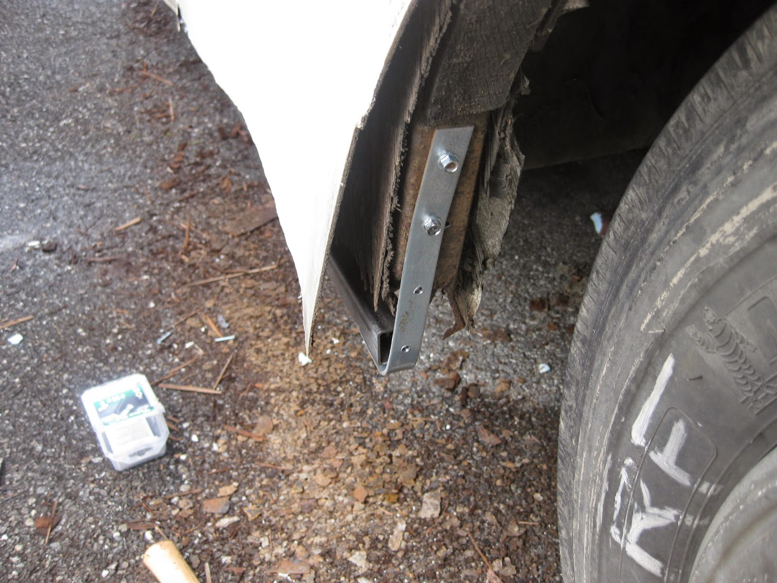 How To Repair Exterior Damage To An Rv Our Rv Life