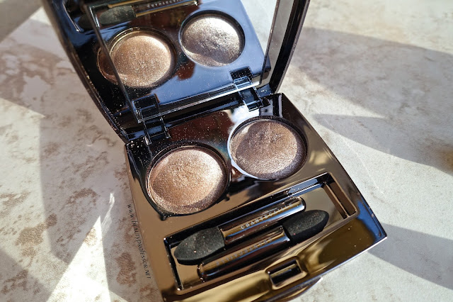 chantecaille le chrome duo tibet swatches