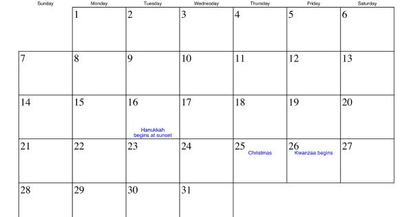 December 2014 Calendar Printable Excel Printable Calendar 2014