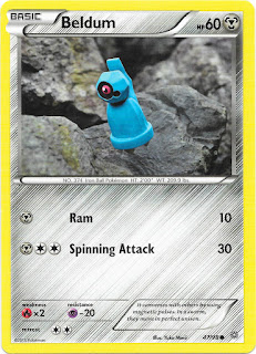 Beldum Ancient Origins Pokemon Card