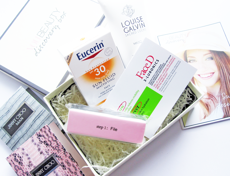 A picture of You Beauty Discovery Box  August 2014