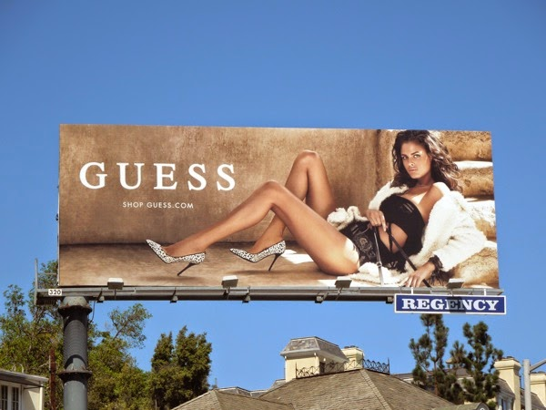 Guess F/W 2014 fashion billboard