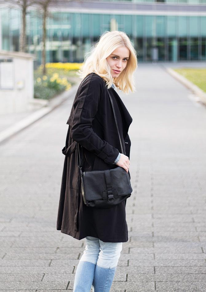 Fashion Attacks ootd black trench coat