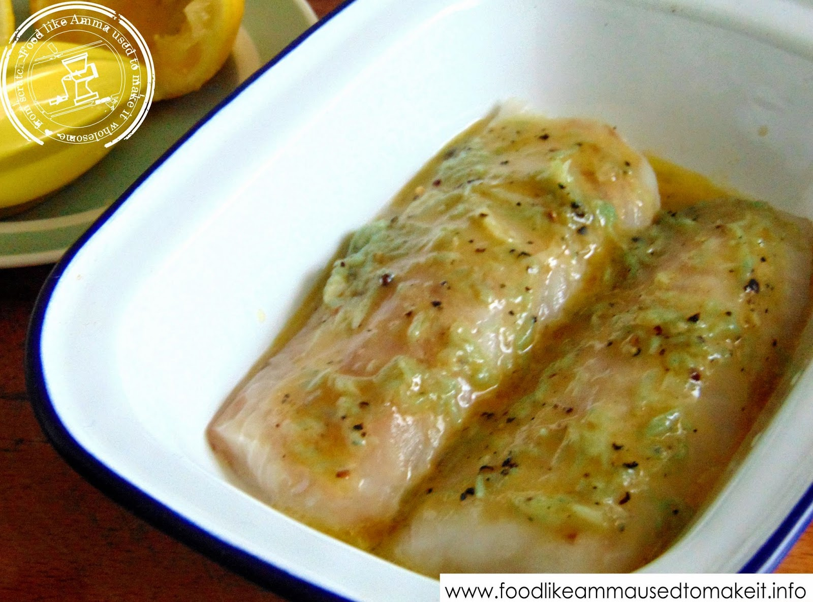 Baked cod with butter and lemon for Baked cod fish recipes