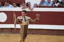 """J.M.Manzanares remporte le prix """"Peña Taurine de Dax"""" de la meilleure faena de la temporada 2011"""