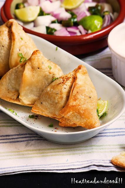 bengali style pure vegetarian samosa recipe