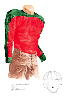 1930 Miami Hurricanes football uniform original art for sale