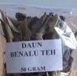 obat tradisional herbal daun benalu teh kering
