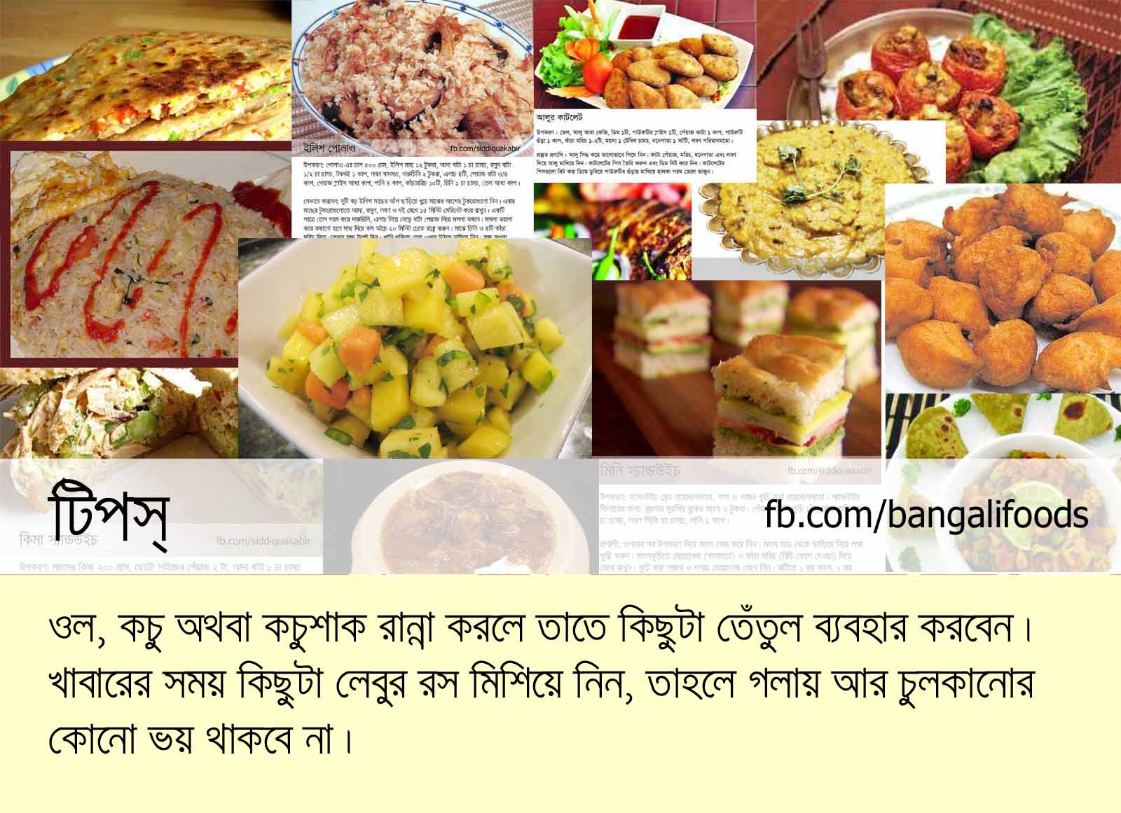 Bangali foods necessary cooking tips forumfinder Gallery