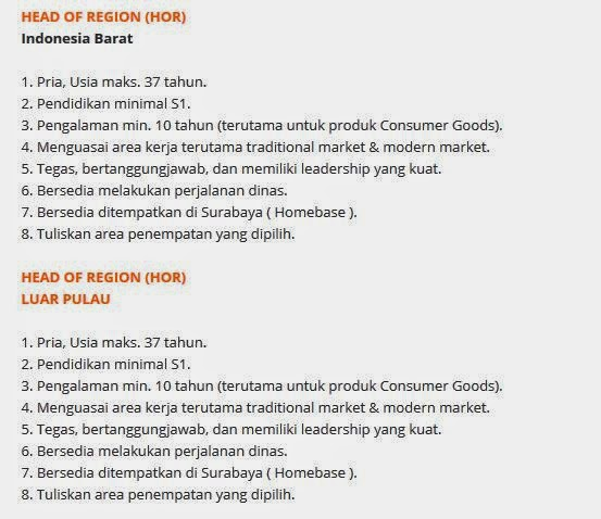 lowongan kerja sidoarjo motasa indonesia