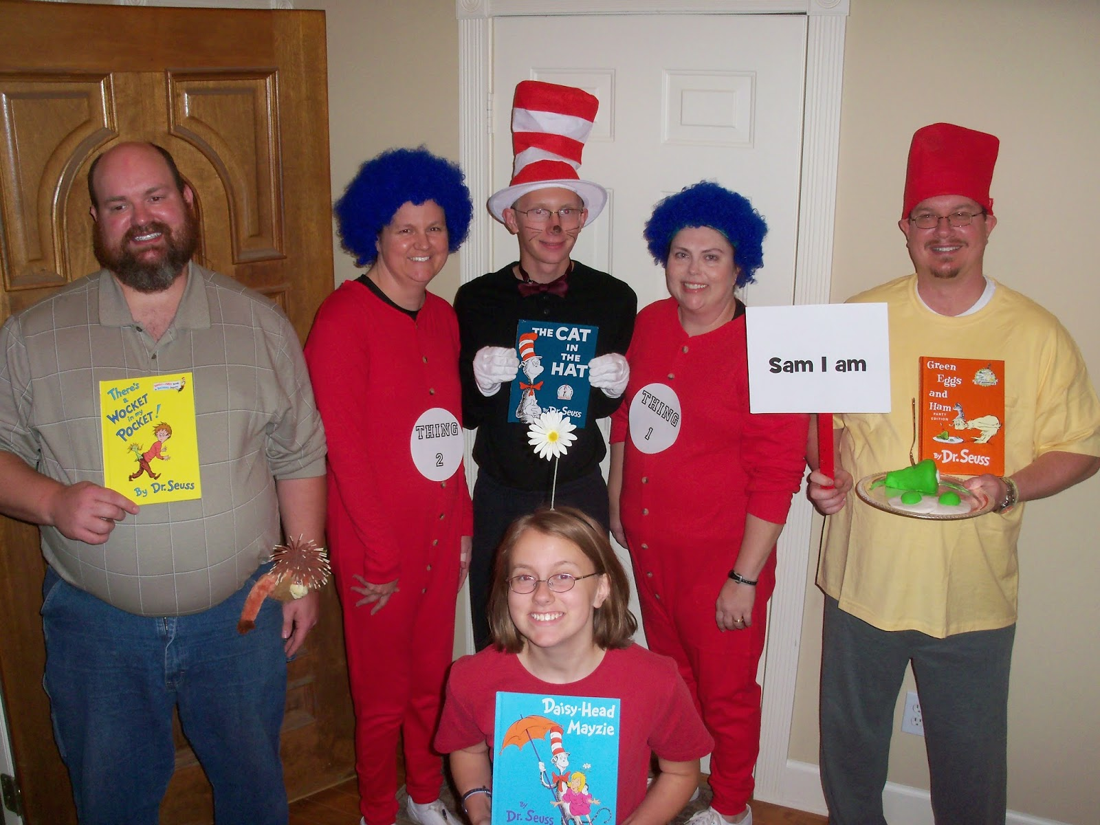 everybody's aunt andi: halloween costume and party ideas - dr. seuss