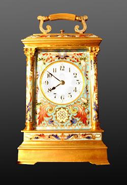 Carriaje clock Frances 2ª mitad del S.XIX h.1860 Napoleón III