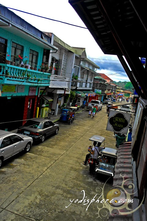 hover_share Streets of the town of Boac Marinduque lined up with old Spanish era antique houses