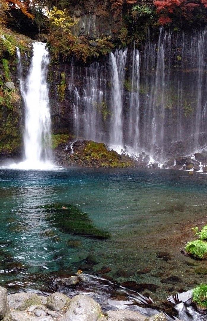 Shiraito Falls,Japan.