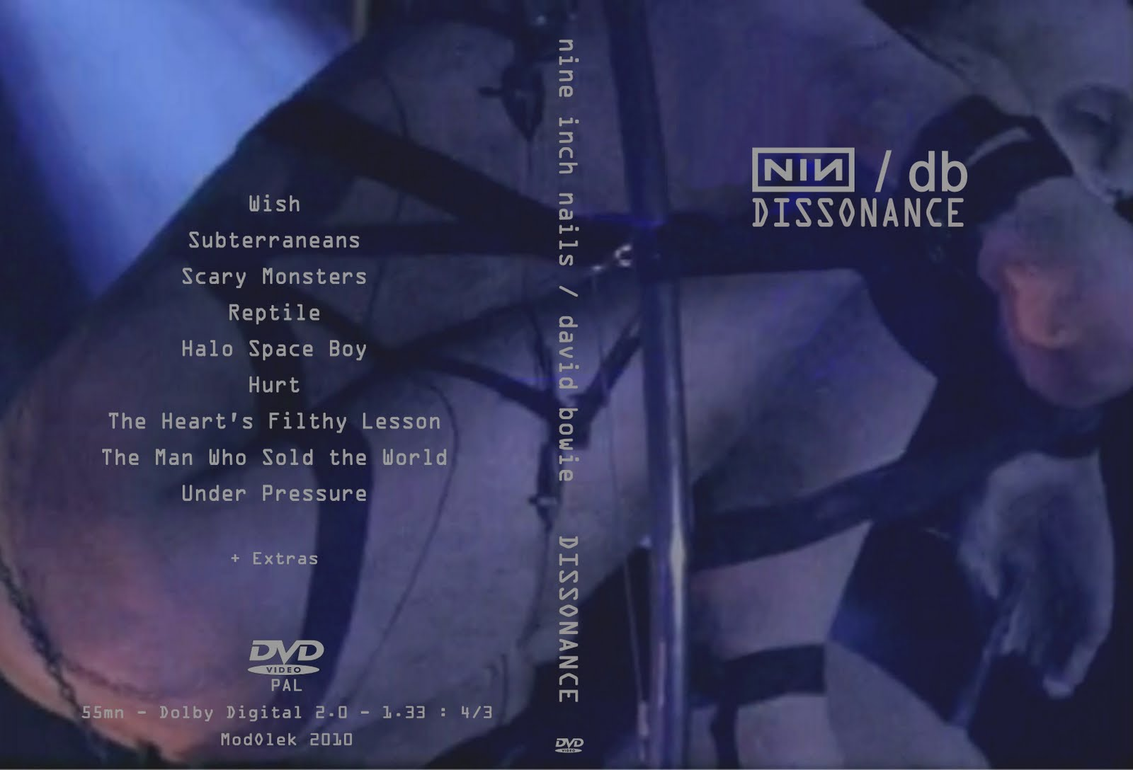 DARK CIRCLE ROOM: Nine Inch Nails / David Bowie - Dissonance - Live ...