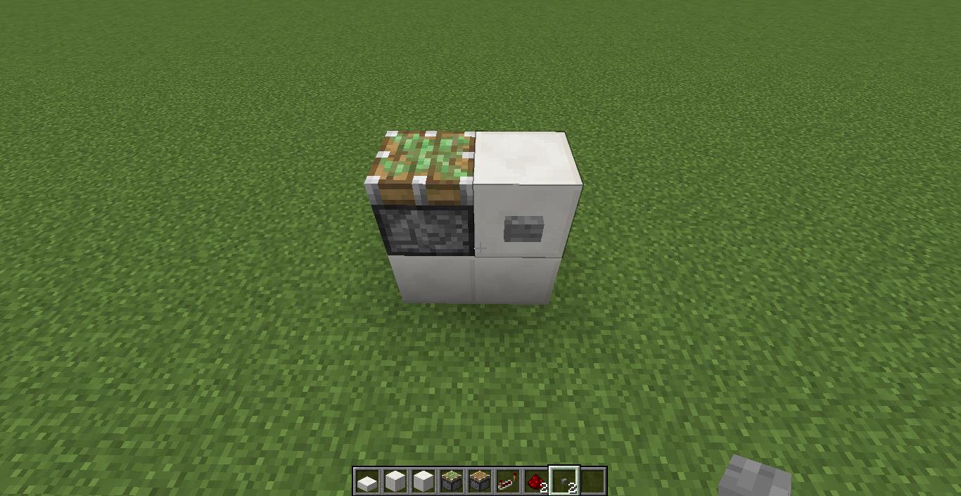 minecraft redstone tutorial cara membuat piston lift di