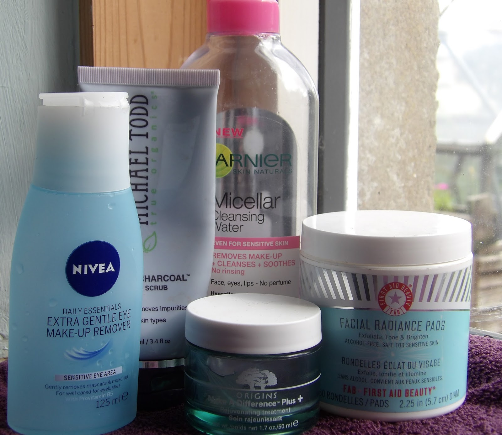 Skin Care Empties