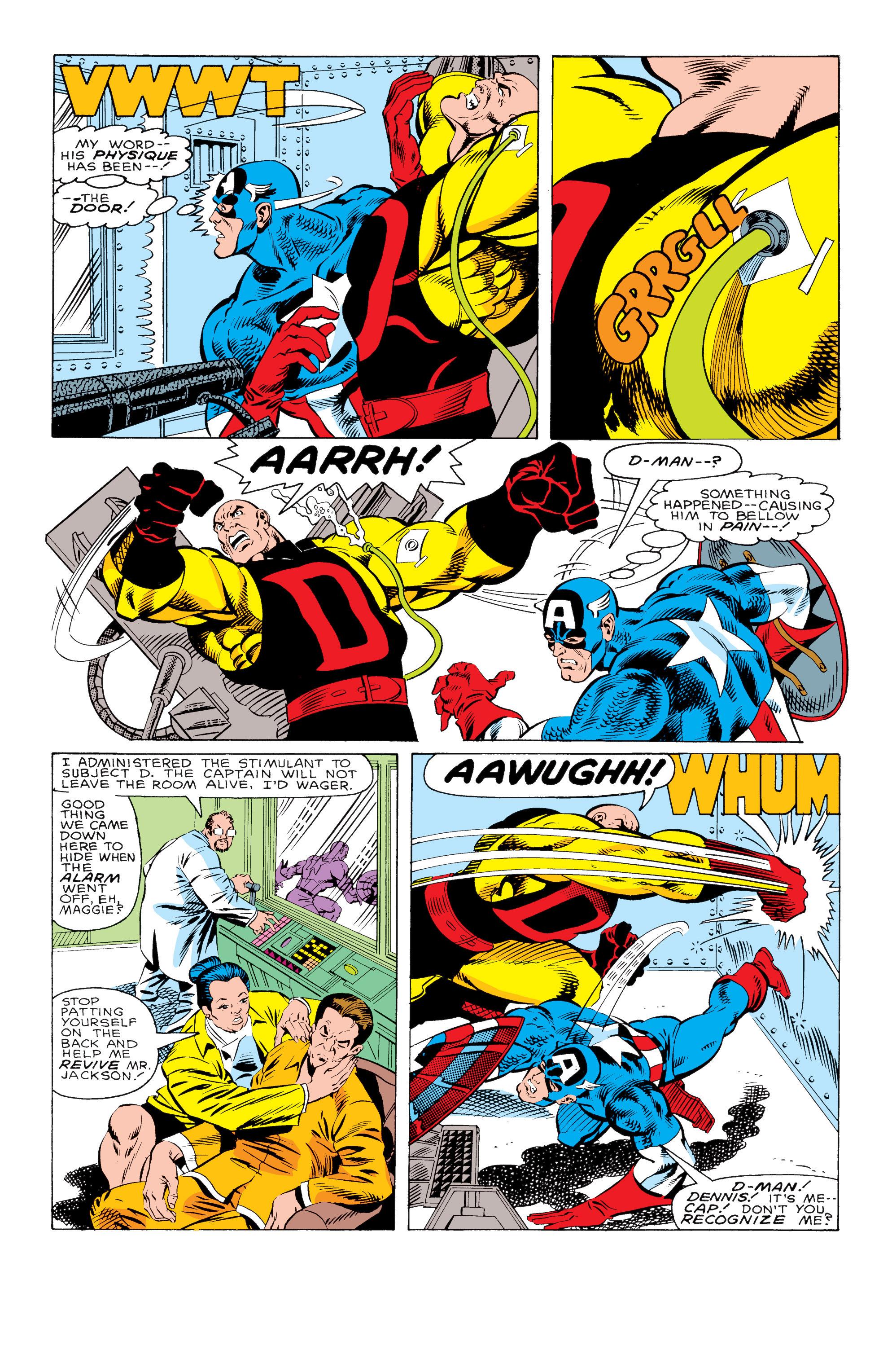Captain America (1968) Issue #330 #259 - English 20