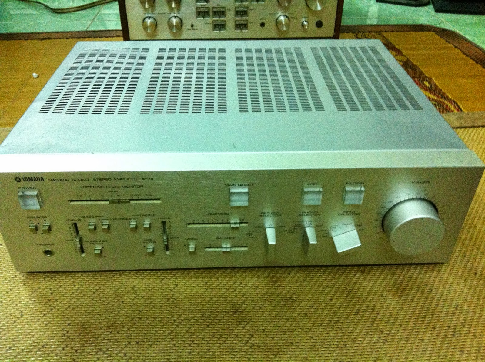Amply Yamaha A-7a - Made in Japan