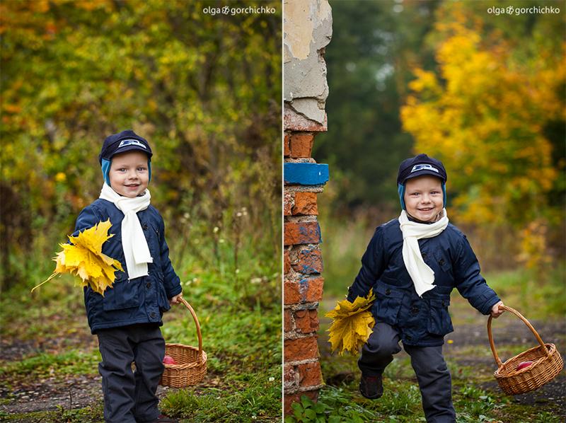 Осенняя фотосессия Назара