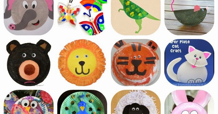 sc 1 st  Learn with Play at Home & Learn with Play at Home: 20 Fabulous Paper Plate Animal Crafts