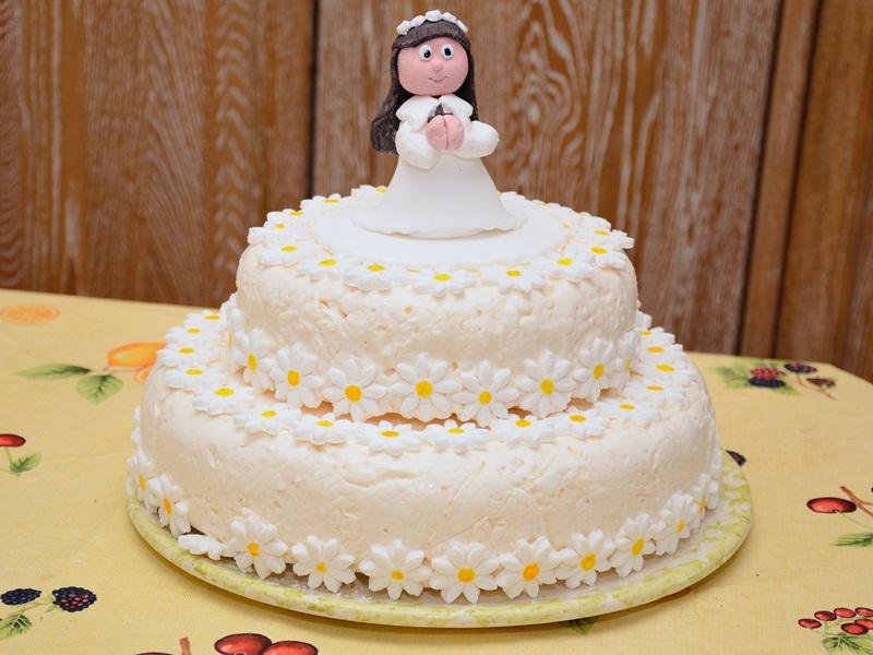 abbastanza Studiamando liberamente: La Prima Comunione di Margherita: la torta MQ54