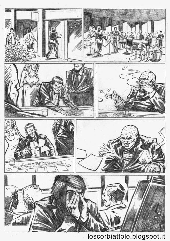 all in pazzi per il fumetto vincitore 2014 matite mirko treccani pagina 3
