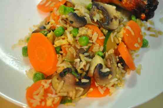 "Healthy"" Recipe Fried Rice"