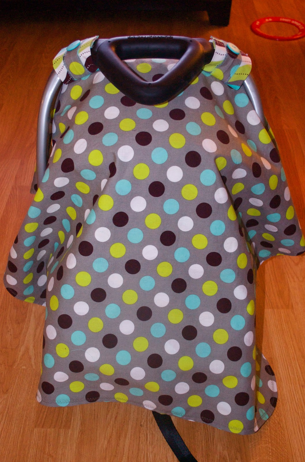 A Little Time Miracle Car Seat Canopy Tutorial For Sewing Dummies