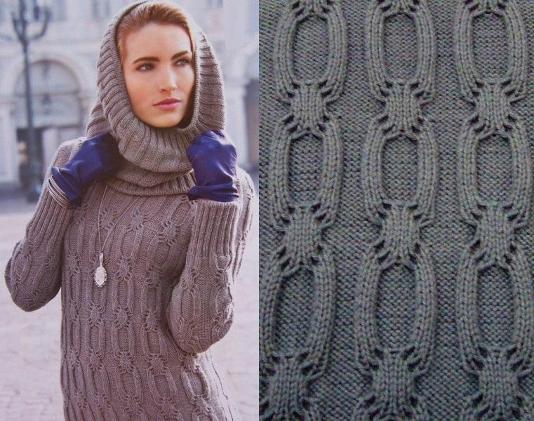 Вязаные шарфы своими руками для мужчин