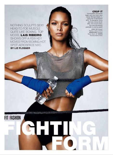 Fashion Model @ Lais Ribeiro for Self Magazine September 2015