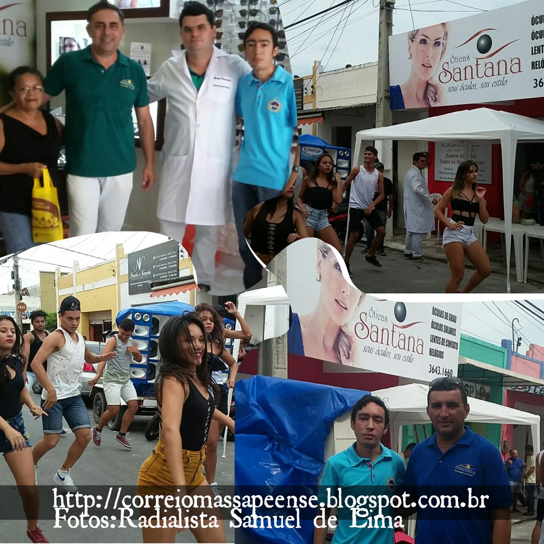 Óticas Santana inaugura loja em Massapê ~ Correio Massapeense 73e6b09a4f