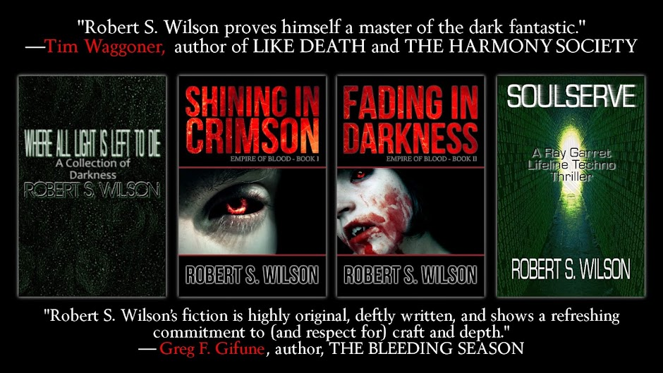Robert S. Wilson, author of Shining in Crimson and The Quiet