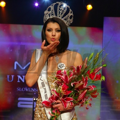 Dagmar Kolesárová - Miss Universe Slovak republic 2011