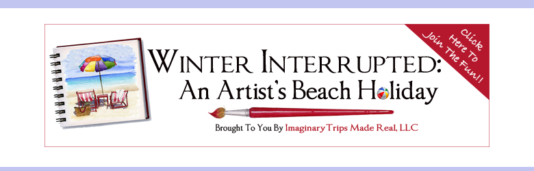 Come and Sketch At the Beach!