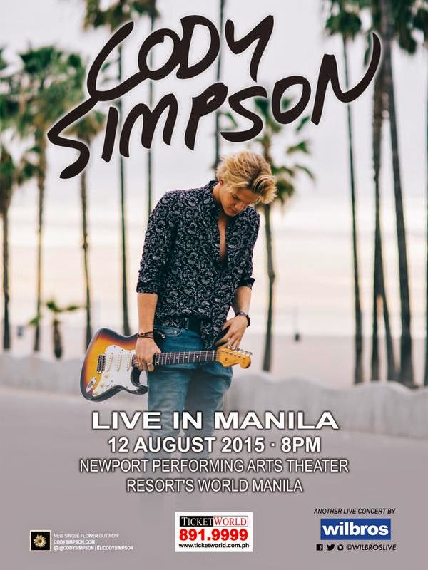Cody Simpson Live in Manila