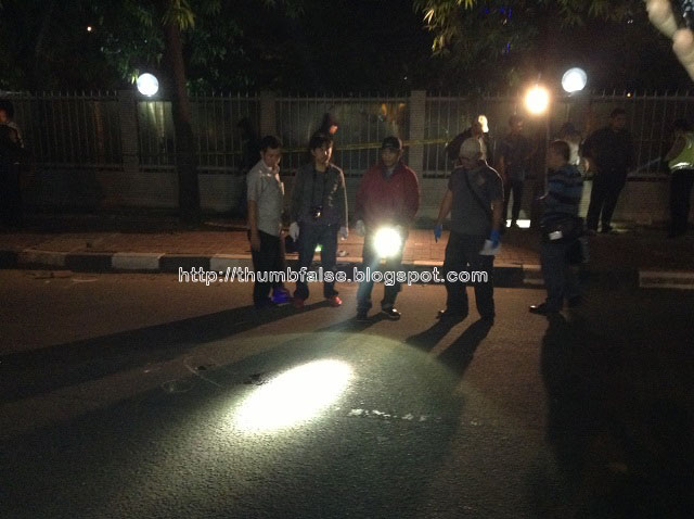 Lokasi penembakan dan tewasnya Bripka Sukardi