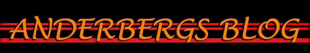 Anderbergs blog