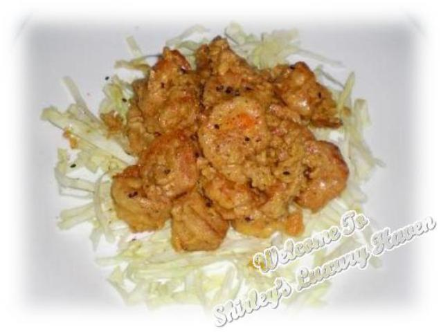 delicious salted egg yolk prawns recipe