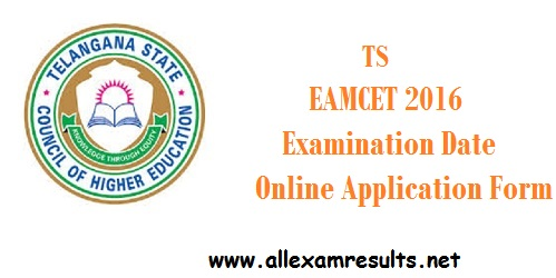 TS-EAMCET-2016-Examination-Date-Online-Application-Form